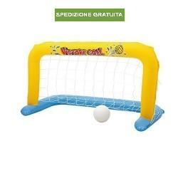 Bestway Porta con palla calcio pallanuoto gonfiabile galleggiante x piscina mare