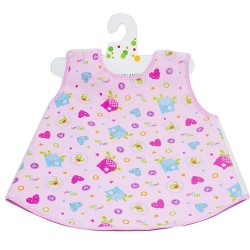Washable bib, Mr. Owl is the only size for everyone for school and asylum