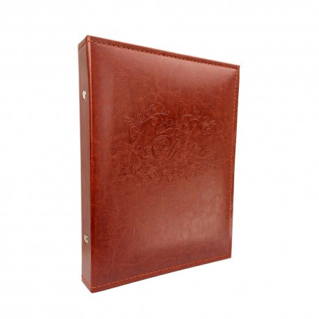Photo Albums in Eco Leather with Adhesive Pages