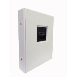 Album Fotografico Memory in Ecopelle Personalizzabile a tasche per 200 foto 13x18 cm.