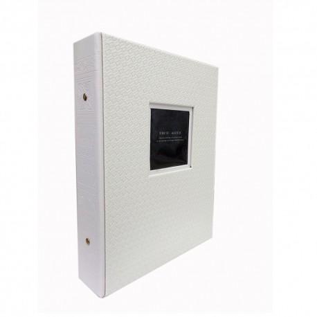 Память фотоальбома в Ecopelle Настраиваемые карманы для 200 фотографий 13x18 см.