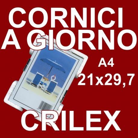 Cornici in crilex A4 - 21x29,7 cm. - 700 pz.
