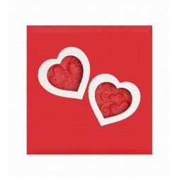 Album Fotografico Heart a tasche 13x19 per 200 con memo.