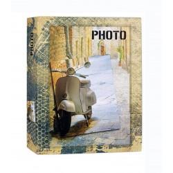 Album fotografico Photo con 50 pagine adesive 31x32 cm. - Portafoto Vespa