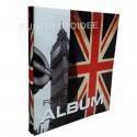 Album fotografico LONDRA a foglio adesivo 22,5x28 cm.