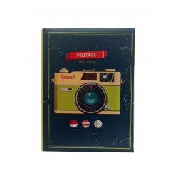 "Pocket photo album ""Camera"" rilegato a tasche 10x15 per 300 foto con memo tab"