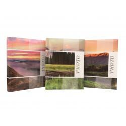 Album fotografico slip-in Mountains rilegato a tasche 10x15 per 300 foto con memo, varie grafiche, 1 pz.