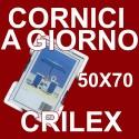 Pacco da 6 cornici a giorno 50x70 in crilex antinfortunistico - Conf. da 6 pz.