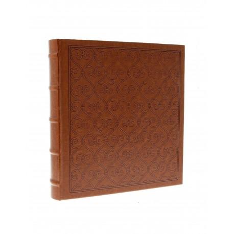 Elegante album fotografico DECOR, copertina rigida in ecopelle, a tasche 13x18 per 200 foto con memo scrivibile