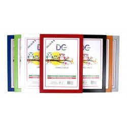 Cornice A4 in fibra di legno ecologico e crilex antinfortunistico - cornici 21x29,7 cm. da parete leggerissime in plexiglass.