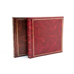Album Classico in Ecopelle a foglio libero 29x31 cm. 100 pagine - Ottima fattura.