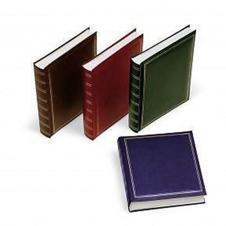 Album tradizionale con copertina in ecopelle 30x30 cm. 100 pagine - Rilegatura a libro