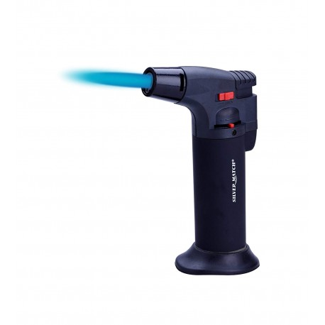 Caramellatore Silver Match - Blueflame Lighter - Accendigas ricaricabile.