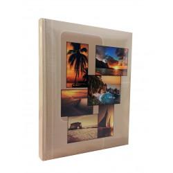 Album fotografico Free rilegato a tasche 10x15 per 300 foto con memo
