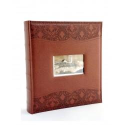 Album fotografico personalizzabile Luxury Black 33x30 cm. con 60 pagine nere