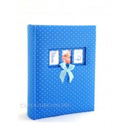 Capestore Album Fotografico Baby Dreamland 33x30 cm. Classico Personalizzabile - 60 Pagine