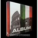 Album fotografico Rome 22,5x28 cm. a foglio adesivo - 50 pag.