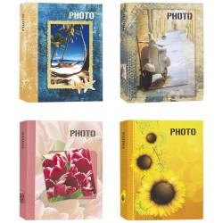 Bundle 4 Album da 300 Foto Cad. - 1200 Foto 13x19 13x18 13x17 - Portafoto a Tasche con Memo in Varie Fantasie