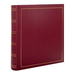 Album tradizionale con copertina in ecopelle 30x30 cm 100 pagine bianche