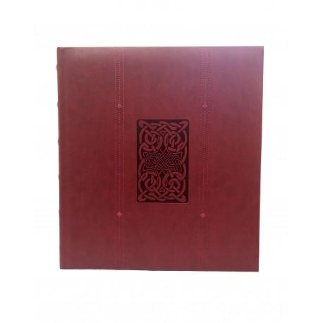 Elegante Album Fotografico Classico Line h.33x31 cm. in Ecopelle 100 pagine