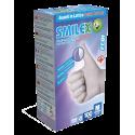 100 Guanti SMILEX FEBI Monouso in Lattice Senza Polvere Tg.M (7-7,5) - Conf. da 100 pz.