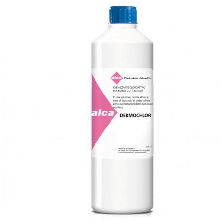 Igienizzante cloroattivo per mani e cute integra DERMOCHLOR Alca - 1Lt