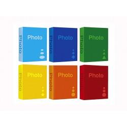 Album Fotografico 100 foto a tasche 13x19 pagine nere - portafoto 13x19 12x18