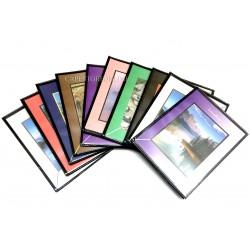 100 Mini Portafoto personalizzabili a tasche formato 13x19 cm. 40 foto cad.
