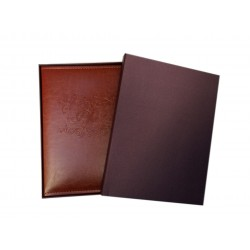 "Elegante Album Photos in Ecopelle con Scatola, Photo Album a Tasche 5""x7"" per 160 Foto 13x18 13x17 12x18 12x16"