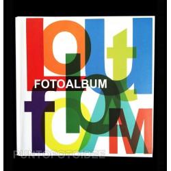 Album fotografico porta foto 22,5x28 cm. a foglio adesivo.