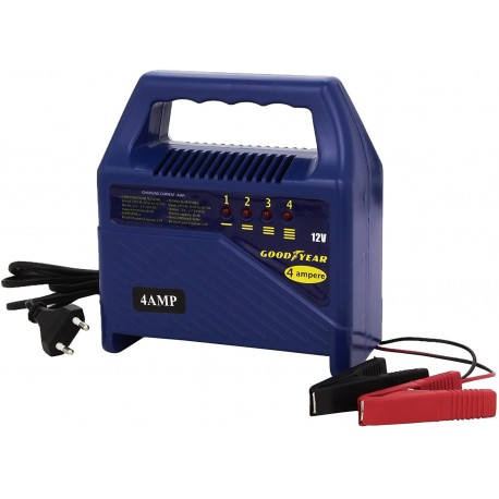 Bottari 77350 Good Year Carica Batteria 4 Ampere 12V, 230V