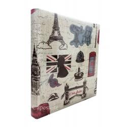 Album Fotografico Viaggi Londra Parigi a Tasche 13x18 per 200 Foto 13x18 13x17 12x18