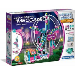 Clementoni Laboratorio di Meccanica Luna Park - Set di Gioco Multicolore 19100