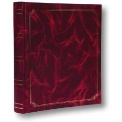Album Fotografico Classico a tasche 13x19 per 300 foto - Raccoglitore portafoto - Rosso