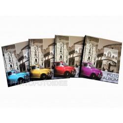 Foto Album Car Fiat a foglio adesivo - Raccoglitore Fotografico 22,5x28 cm.