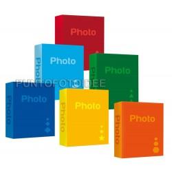 Album Fotografico Basic Slip-in 200 Foto a Tasche 15x23 Copertina Rigida, 1 pz.