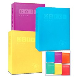 Album foto New Color 402 foto per formato 11x16, 10x15 Slip-in con tasche