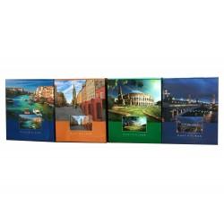 Album Viaggi per 40 foto a tasche 10x15 con copertina rigida + scatola, 1 pz.