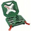 (TG. 60 Pezzi) Bosch 2607010611 x - Line Set 60 Pezzi, Avvitamento e Foratura