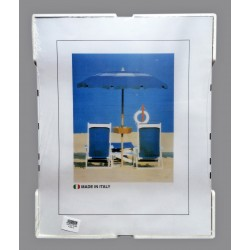 A4 Cornice a Giorno 21x29,7 cm. in Crilex Antinfortunistico, Ultra- Trasparente e Leggero - Cornice A4