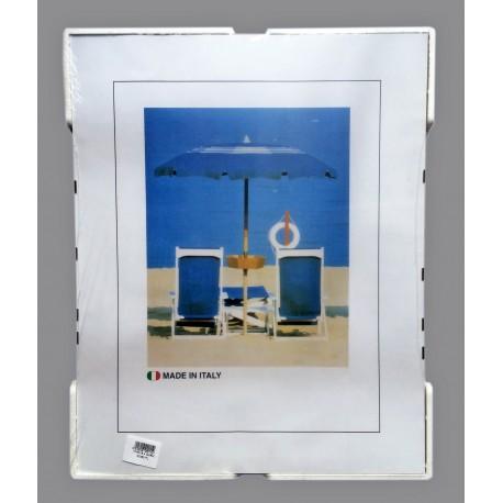 12 Cornici a Giorno A3 in Crilex Antinfortunistico, Ultra - Trasparente e Leggero - Cornice 21,7x42 cm. - Conf. da 12 pz.