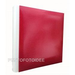 Raffinati Album fotografici tradizionali in ecopelle, 60 pagine. Dimensioni h. 24x24 cm
