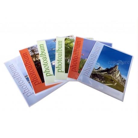 Fotoalbum salvaspazio x 80 foto a tasche 13x19 cm, 2 foto per pagina, 1 pz.