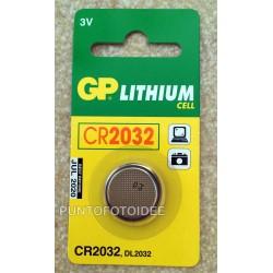 Batteria GP CR2032 LITHIUM CELL 3V - Pila a Bottone - GP Batteries