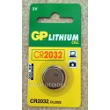 Batteria GP CR2032 LITHIUM CELL 3V - Pila a Bottone - GP Batteries
