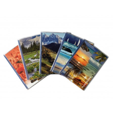 10 Albumini Fotografici con Copertina Personalizzabile CLEAR 13X19/20