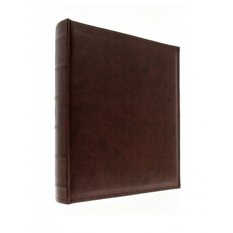 Album fotografico h.33x30 cm. in ecopelle a foglio libero - 100 pagine h.32x29 cm.