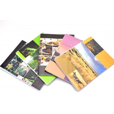 Album Fotografico Personalizzabile Fronte/Retro a Tasche 10x15 per 64 Foto - Grafiche Assortite - 1 pz.
