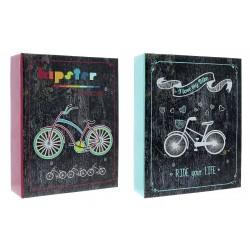 Album Fotografico Bike a Tasche 10X15 304 foto senza Memo Raccoglitore Portafoto
