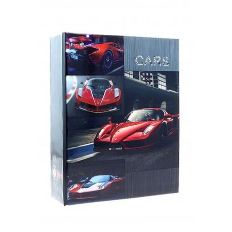 Album Fotografico Cars a Tasche 10X15 per 304 foto senza Memo - Portafoto a Tema Auto